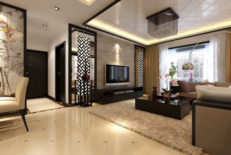Modern Chinese Living Room Decorating Ideas New Chinese Living Room Designs