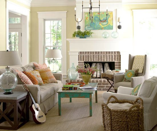 Modern Cottage Living Room Decorating Ideas Awesome 2013 Cottage Living Room Decorating Ideas