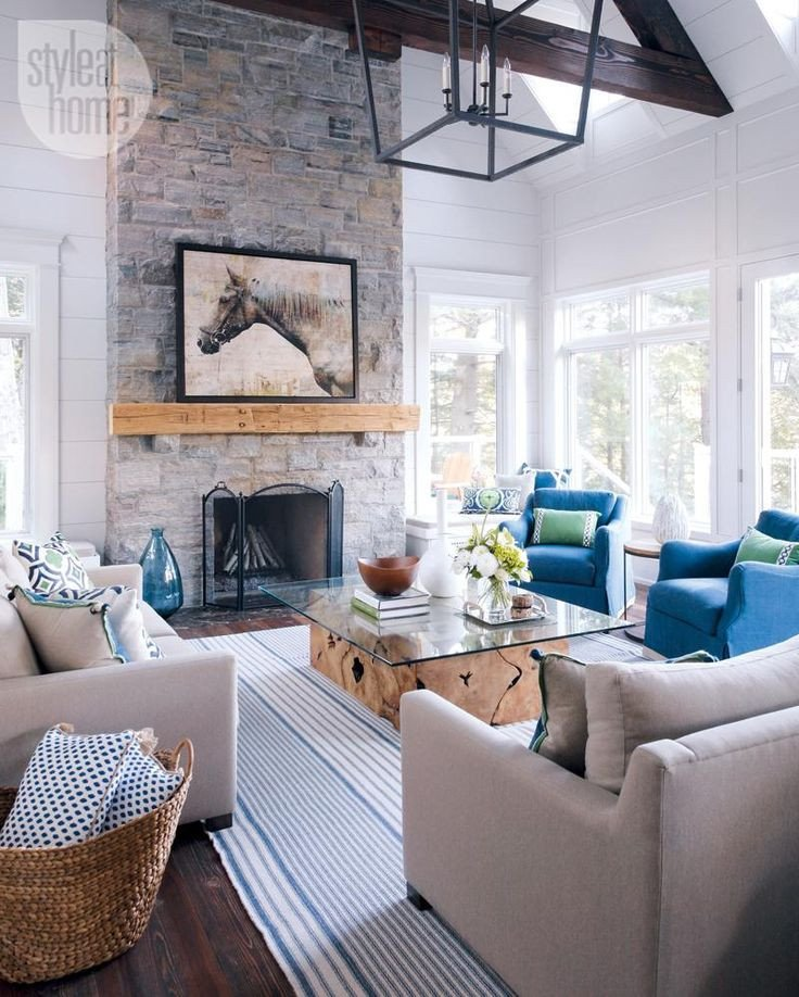 Modern Cottage Living Room Decorating Ideas Inspirational 25 Best Modern Cottage Style Ideas On Pinterest