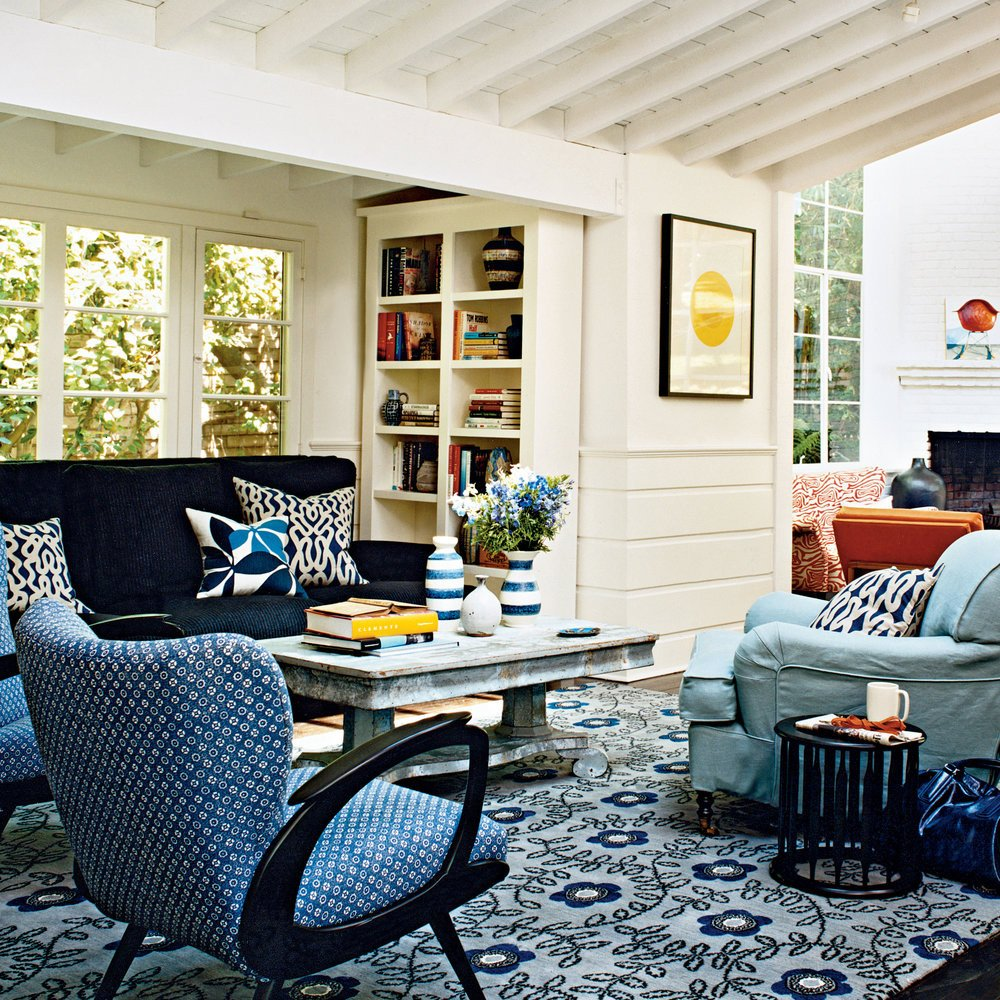 Modern Cottage Living Room Decorating Ideas Lovely Modern Cottage Decor Colorful Cozy Spaces Coastal Living