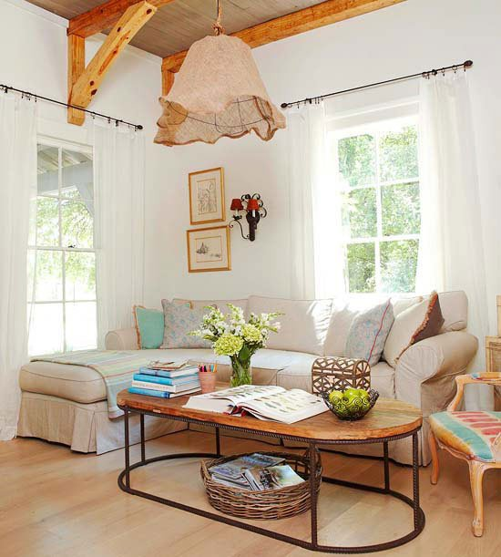 Modern Country Living Room Decorating Ideas Luxury Modern Furniture 2013 Country Living Room Decorating Ideas From Bhg
