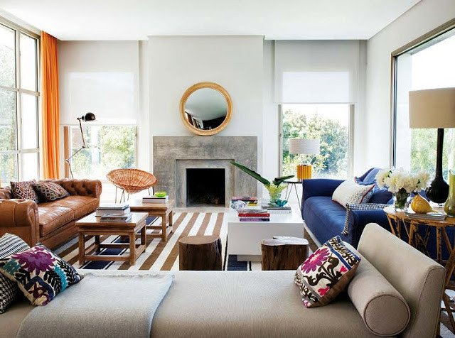 Modern Daybed Living Room Decorating Ideas Elegant Rosa Beltran Design Using A Daybed In A Living Room