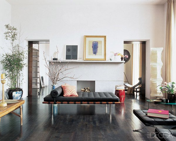 Modern Daybed Living Room Decorating Ideas Inspirational Design Under the Influence the Barcelona Chair