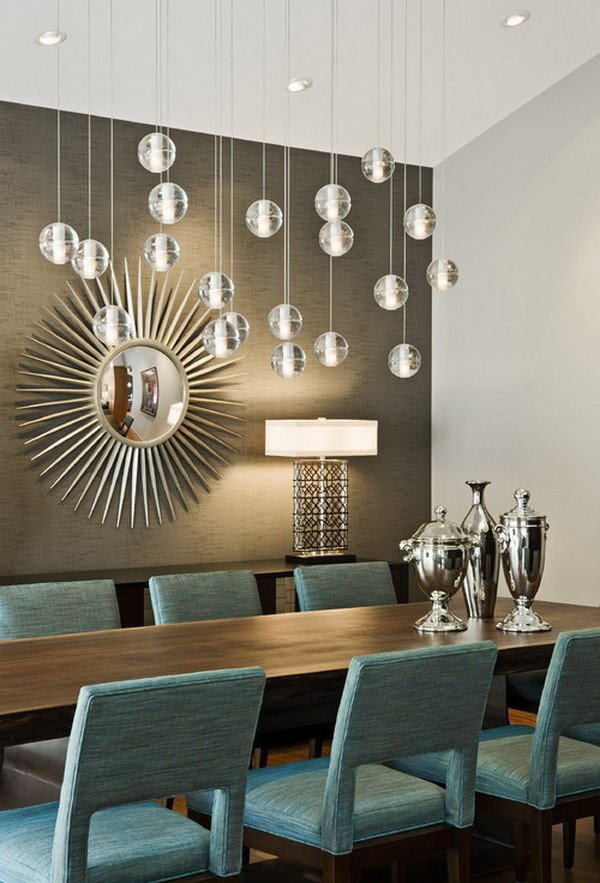 Modern Dining Room Wall Decor Beautiful 40 Beautiful Modern Dining Room Ideas Hative