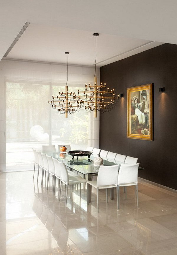 Modern Dining Room Wall Decor Elegant 40 Beautiful Modern Dining Room Ideas