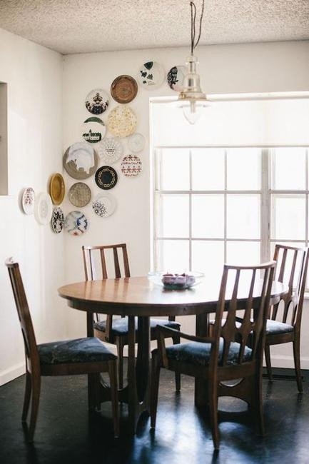 Modern Dining Room Wall Decor New 21 Modern Wall Decor Ideas Using Decorative Plates