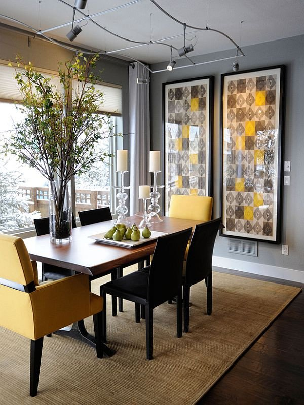 Modern Dining Room Wall Decor Unique Casual Dining Rooms Decorating Ideas for A soothing Interior