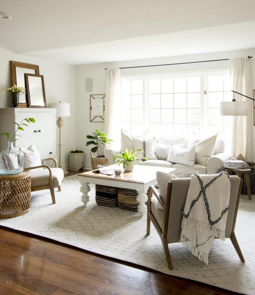 Modern Farmhouse Living Room Decor Elegant How to Get the Modern Farmhouse Living Room Look