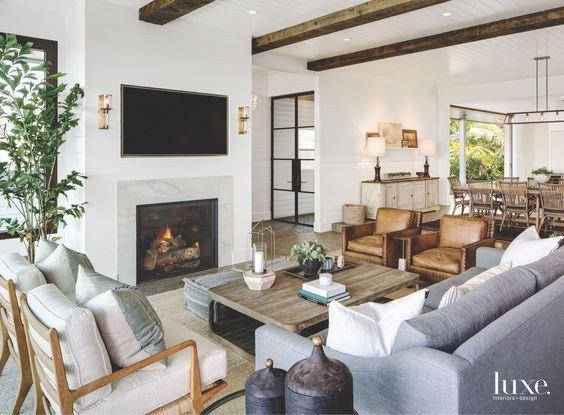 Modern Farmhouse Living Room Decor Fresh Remodelaholic