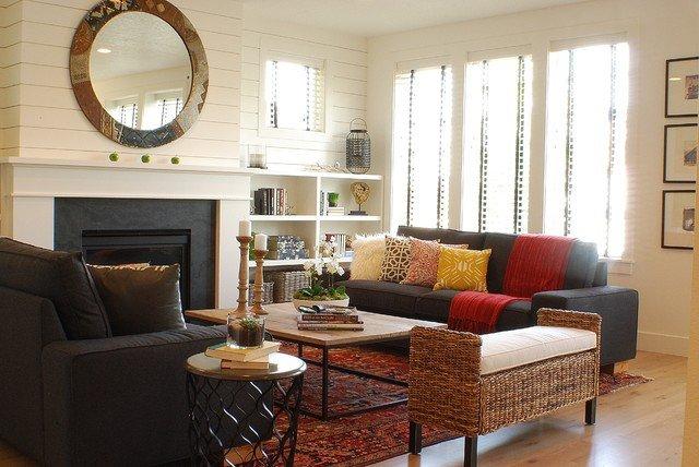 Modern Farmhouse Living Room 2
