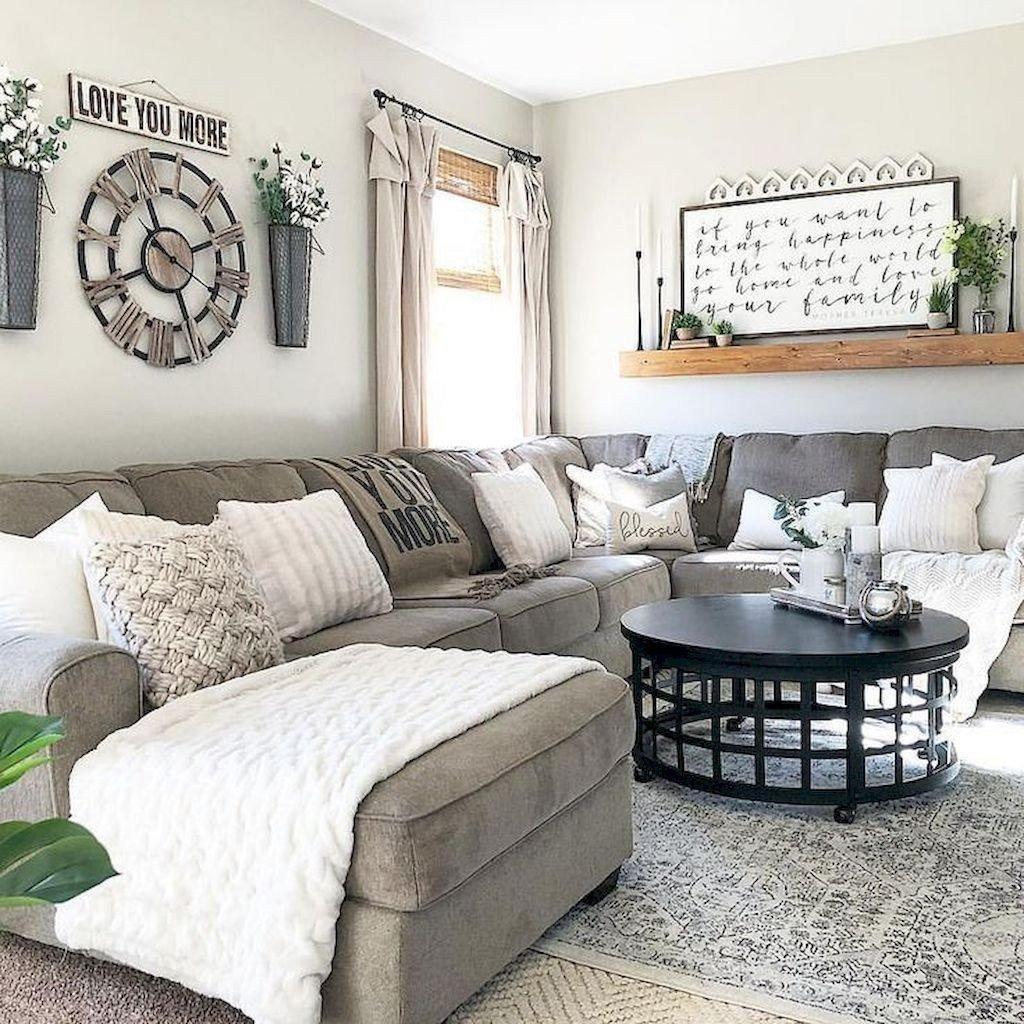 Modern Farmhouse Living Room Decor New 40 Modern Farmhouse Living Room Design Ideas Homystyle