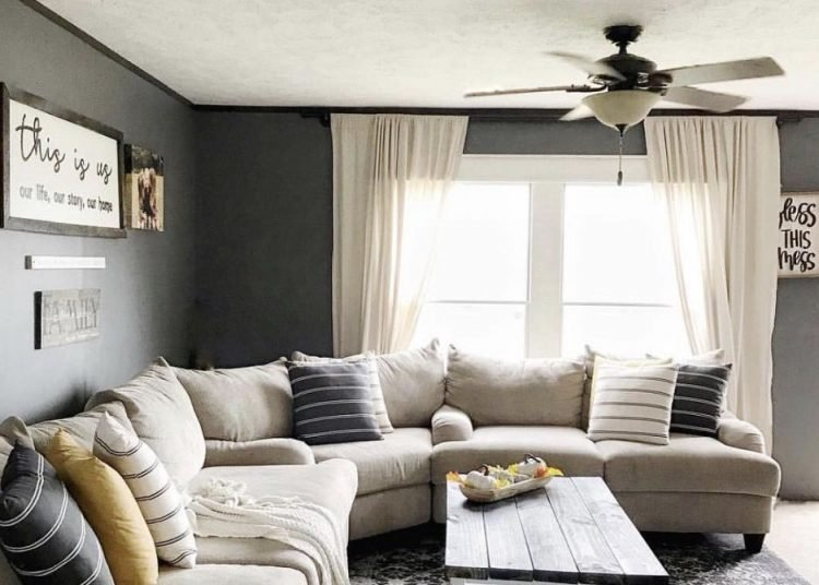 Modern Farmhouse Living Room Decor Unique 2015 Double Wide Home is A Modern Farmhouse Stunner
