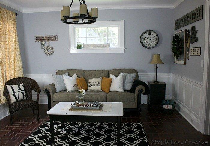 Modern Farmhouse Living Room Decorating Ideas Best Of Modern Farmhouse Living Room Makeover Hoosier Homemade