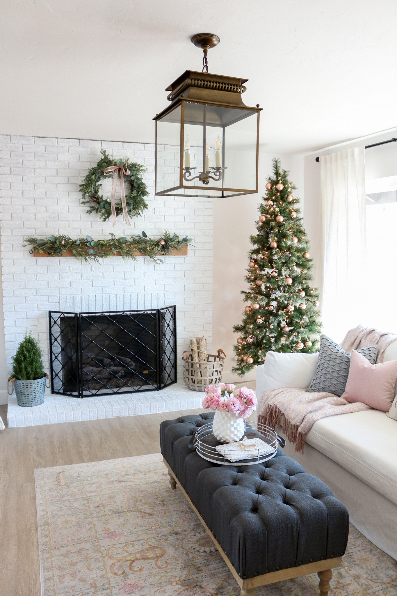 Modern Farmhouse Living Room Decorating Ideas Inspirational Modern Farmhouse Style Living Room Holiday tour
