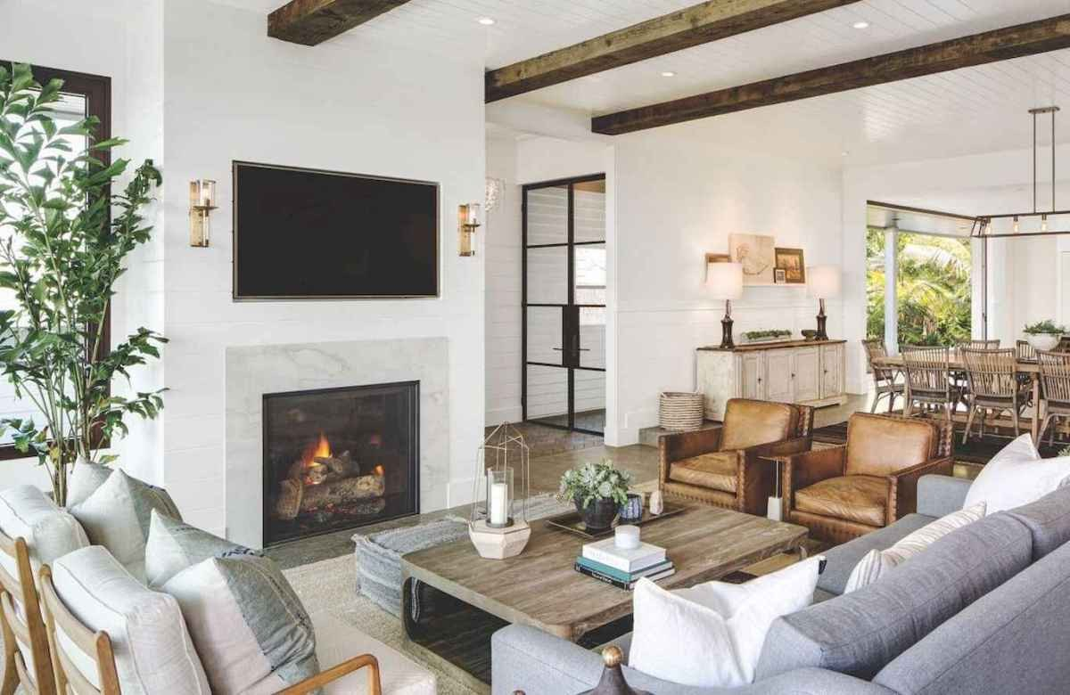Modern Farmhouse Living Room Decorating Ideas Luxury 60 Cool Modern Farmhouse Living Room Decor Ideas 48 Roomadness