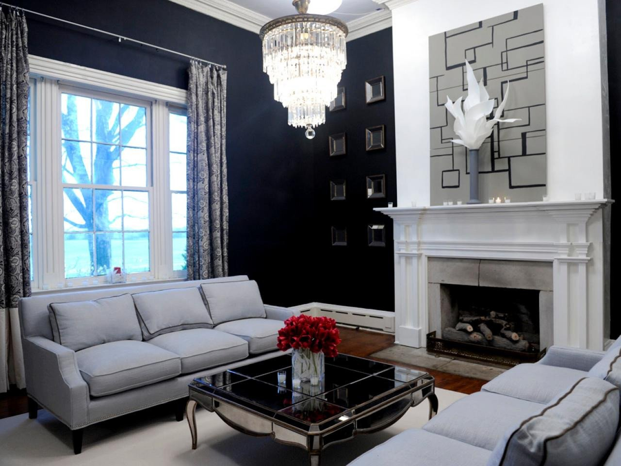 Modern Grey Living Room Decorating Ideas Awesome Modern Style for Classic Rooms Hgtv Design Star