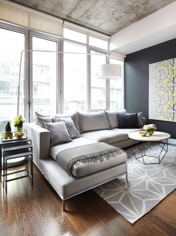 Modern Grey Living Room Decorating Ideas Elegant 26 Best Modern Living Room Decorating Ideas and Designs for 2019