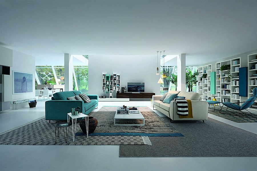 Modern Italian Living Room Decorating Ideas Awesome 15 Versatile Modular Living Room Units Trendy Contemporary Designs