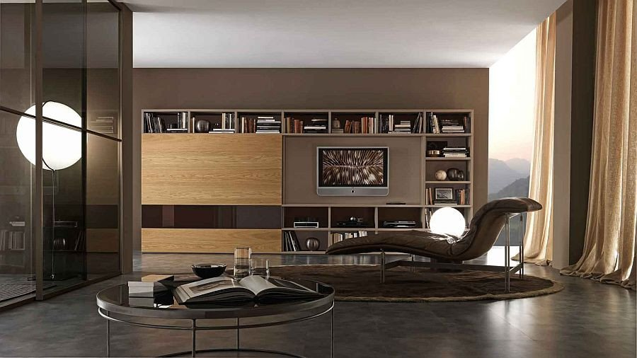 Modern Italian Living Room Decorating Ideas New 15 Modular Bookcase Positions that Fer Design Flexibility