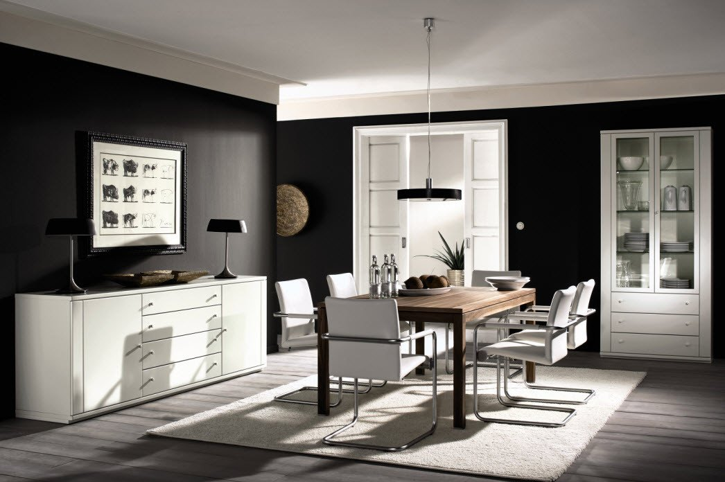 Modern Living Dining Room Decorating Ideas Awesome Style Your Dining Room with Modern Twist