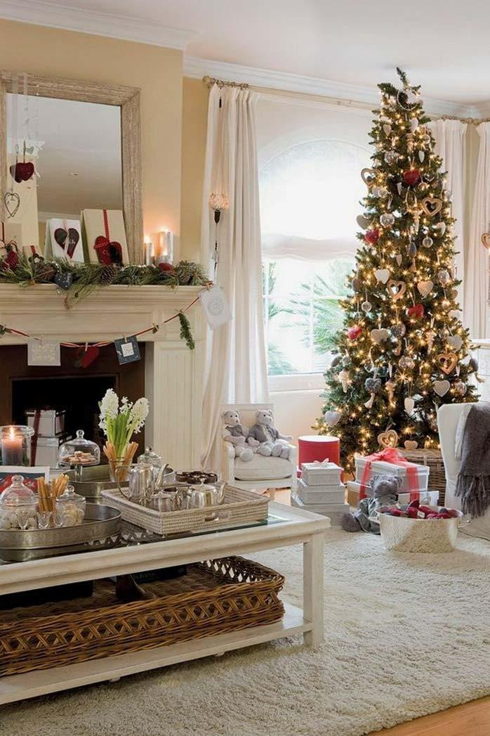 Modern Living Room Decorating Ideas Christmas Awesome 50 Best Christmas Living Room Decor Ideas