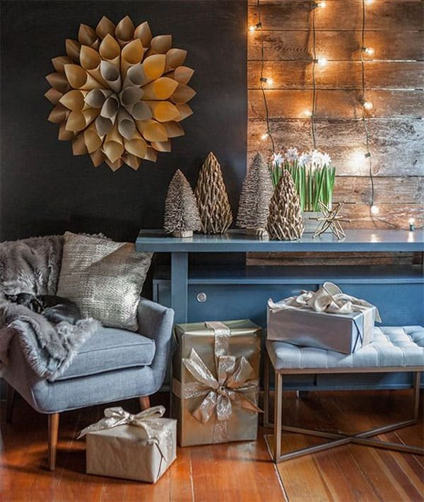 Modern Living Room Decorating Ideas Christmas Awesome 53 Wonderfully Modern Christmas Decorated Living Rooms