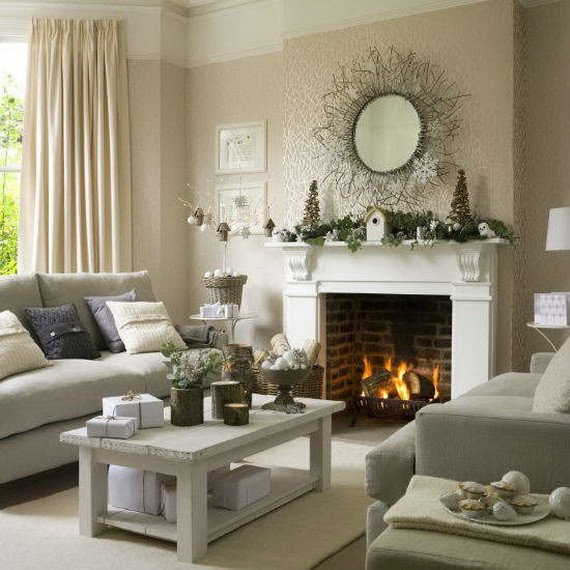 Modern Living Room Decorating Ideas Christmas Awesome 60 Elegant Christmas Country Living Room Decor Ideas Family Holiday Guide to Family