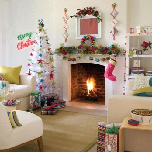Modern Living Room Decorating Ideas Christmas Awesome Mad About Pink 8 Beautiful Christmas Tree Decorating Ideas for Your Home