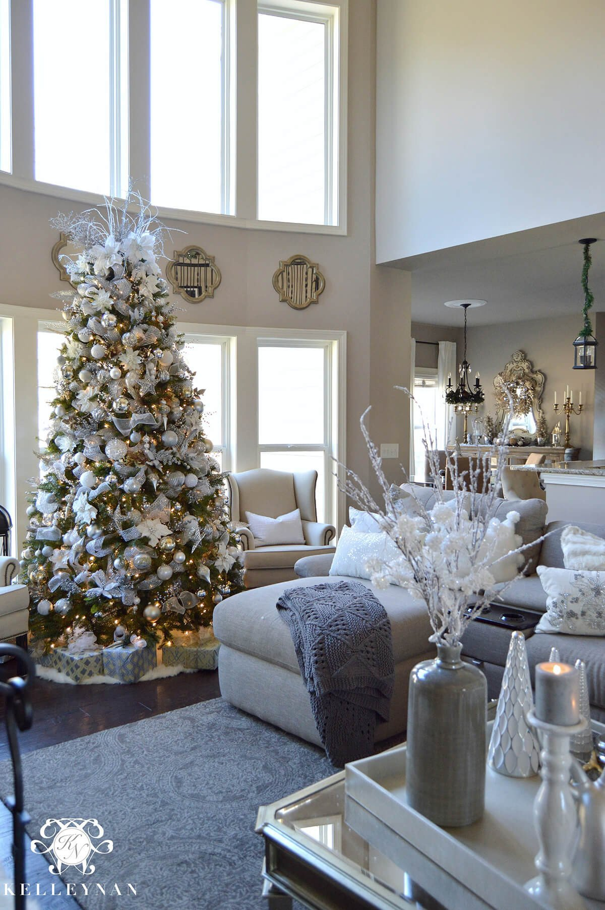 Modern Living Room Decorating Ideas Christmas Best Of 32 Best Christmas Living Room Decor Ideas and Designs for 2019