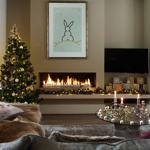 Modern Living Room Decorating Ideas Christmas Best Of 50 Christmas Decorating Ideas to Create A Stylish Home Family Holiday Guide to Family