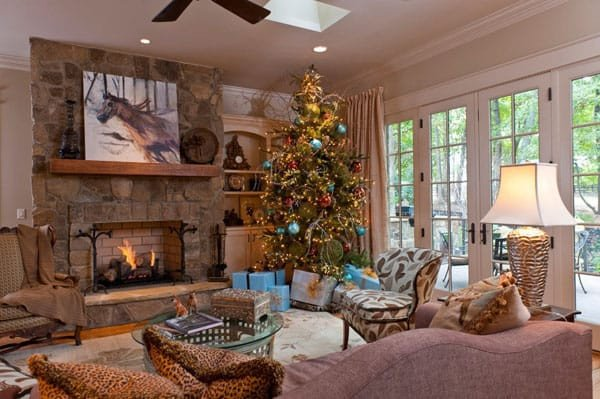 Modern Living Room Decorating Ideas Christmas Fresh 53 Wonderfully Modern Christmas Decorated Living Rooms