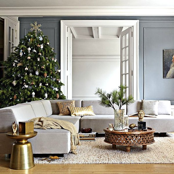 Modern Living Room Decorating Ideas Christmas Fresh Modern Christmas Decorating Ideas for Your Interior
