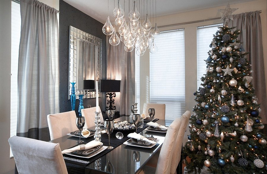 Modern Living Room Decorating Ideas Christmas Fresh top 40 Dining Hall Decorations for Christmas Christmas Celebration All About Christmas