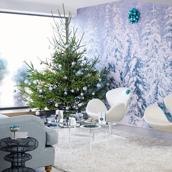 Modern Living Room Decorating Ideas Christmas Inspirational Modern Christmas 2015 – Decoration Ideas for Your Home