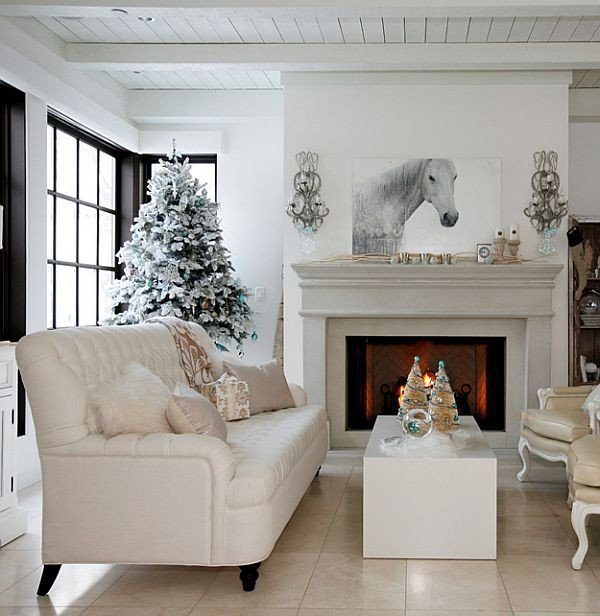 Modern Living Room Decorating Ideas Christmas Lovely A Christmas Interior Design Like No Other From Darci Ilich & the Cross