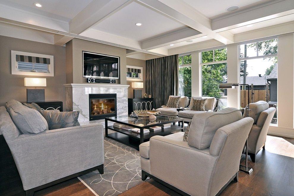 Modern Living Room Decorating Ideas Fireplace Elegant 23 Square Living Room Designs Decorating Ideas