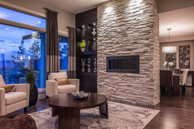 Modern Living Room Decorating Ideas Fireplace Luxury Summit at Selkirk Contemporary Living Room Other Metro by Dilworth Homes