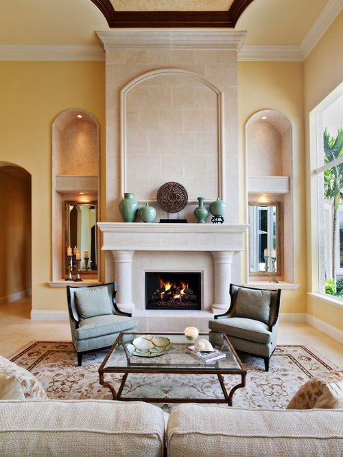 Modern Living Room Decorating Ideas Fireplace New Fireplace Ideas Design Ideas & Remodel