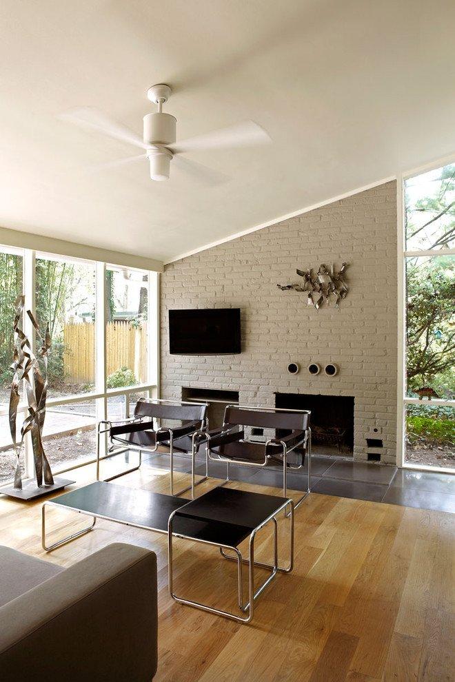Modern Living Room Decorating Ideas Fireplace Unique 25 Midcentury Living Room Design Ideas Decoration Love