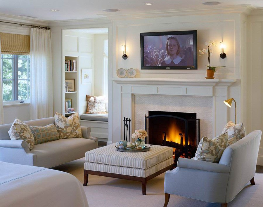 Modern Living Room Decorating Ideas Fireplace Unique 50 Modern and Traditional Fireplace Interior Design Ideas