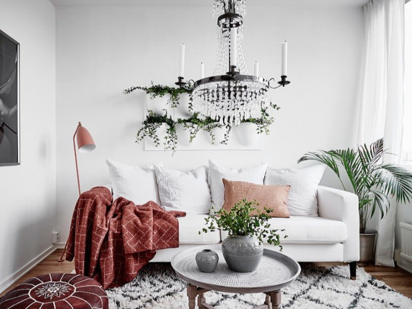 Modern Living Room Decorating Ideas Plant Lovely Bring the Outdoors In with Our Favorite Ways to Display House Plants