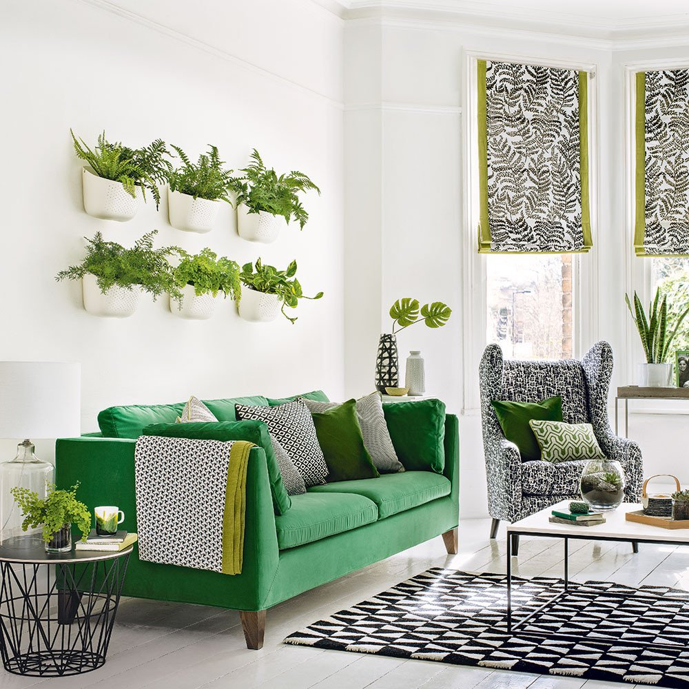 Modern Living Room Decorating Ideas Plant Luxury Green Living Room Ideas for soothing sophisticated Spaces
