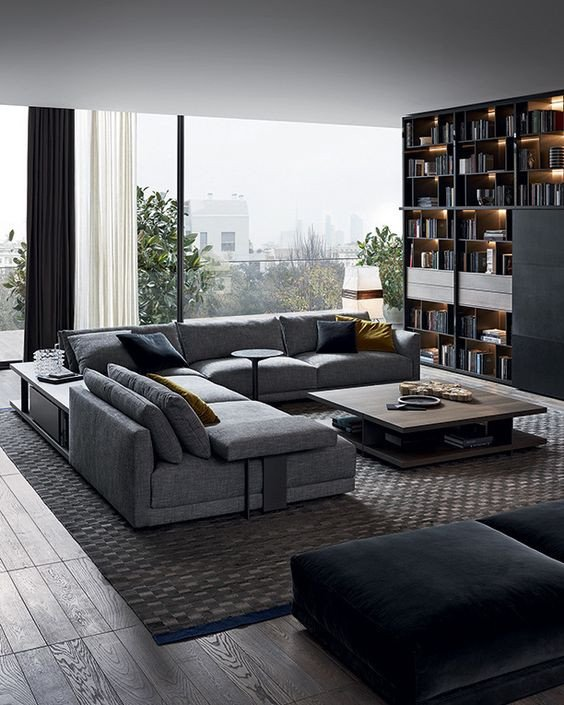 Modern Living Room Decorating Ideas Storage Beautiful 25 Modern Living Rooms that Catch An Eye Digsdigs
