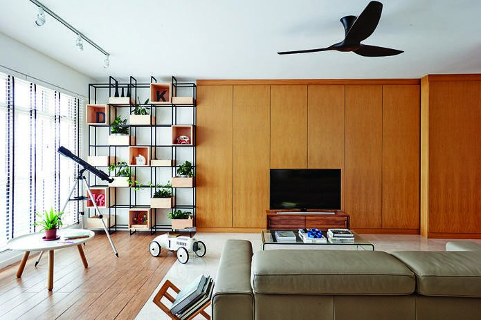 Living room design ideas 7 contemporary storage feature walls