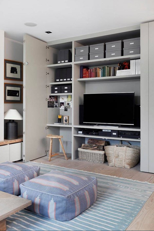 Modern Living Room Decorating Ideas Storage Luxury Storage Systems Variety for the Living Room Small Design Ideas