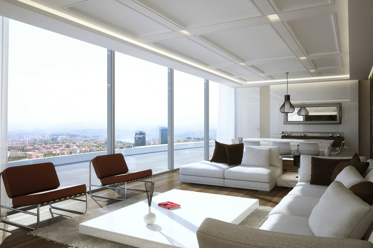 Modern Living Room Fresh Living Room Designs with Great View and Modern Decor Looks