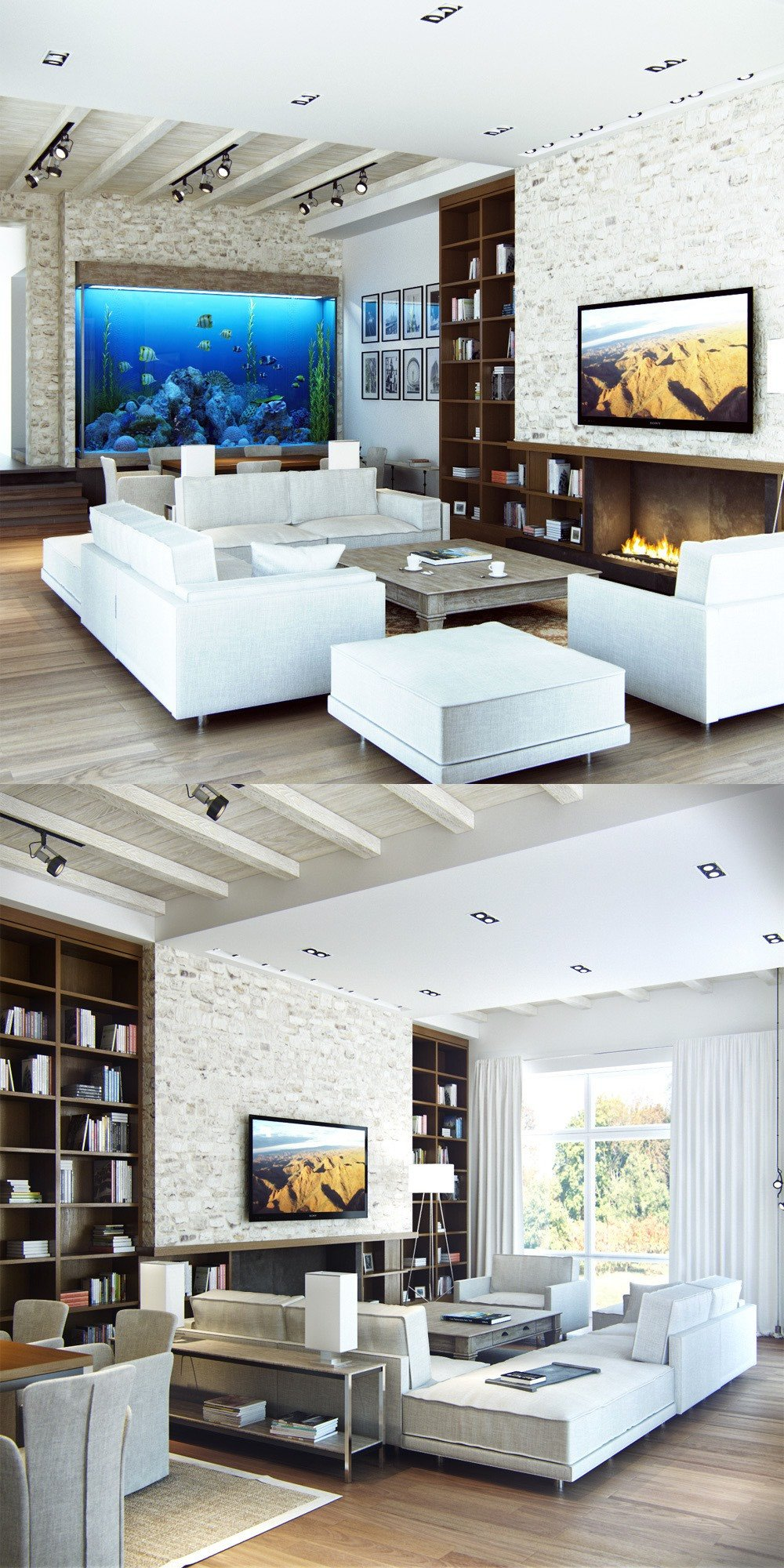 Modern Living Room Lovely 25 Modern Living Rooms with Cool Clean Lines