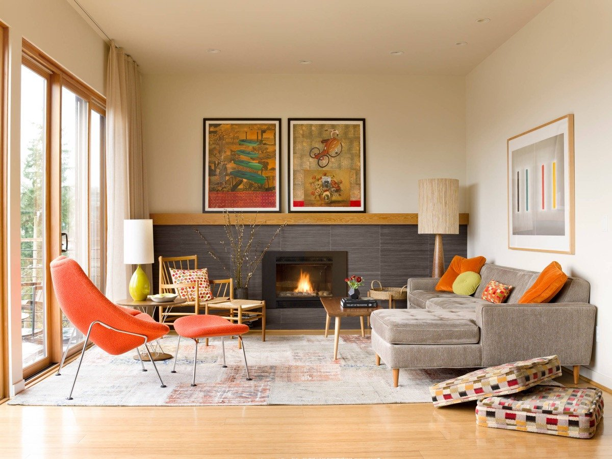 Modern Living Room Lovely 30 Mesmerizing Mid Century Modern Living Rooms and their