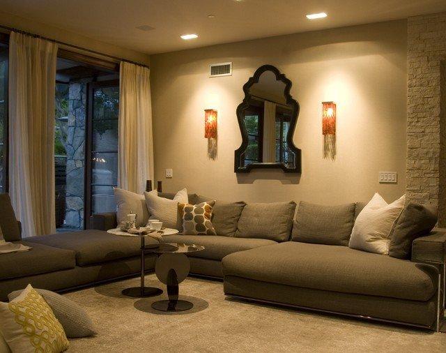 Modern Living Room Tuscan Decorating Ideas Best Of Contemporary Tuscan Contemporary Living Room Los Angeles by Cippananda Interior Design