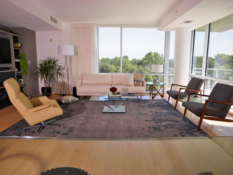 Modern Living Room Unique Midcentury Modern Living Room 2014